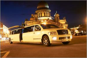 limuzin na den rogdenya(InfinitiQx56)
