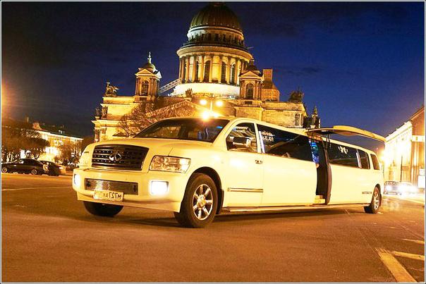Лимузин спб Инфинити Qx56